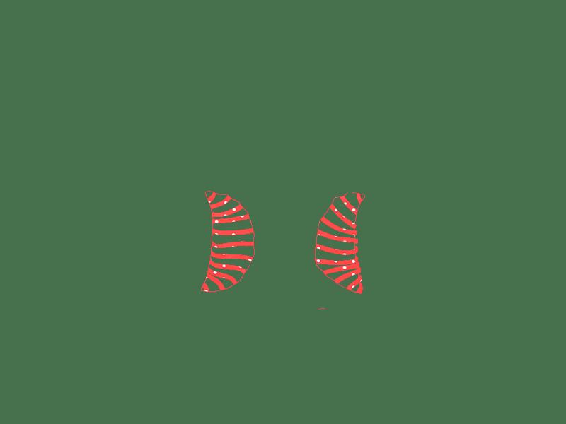 Lunares salmón